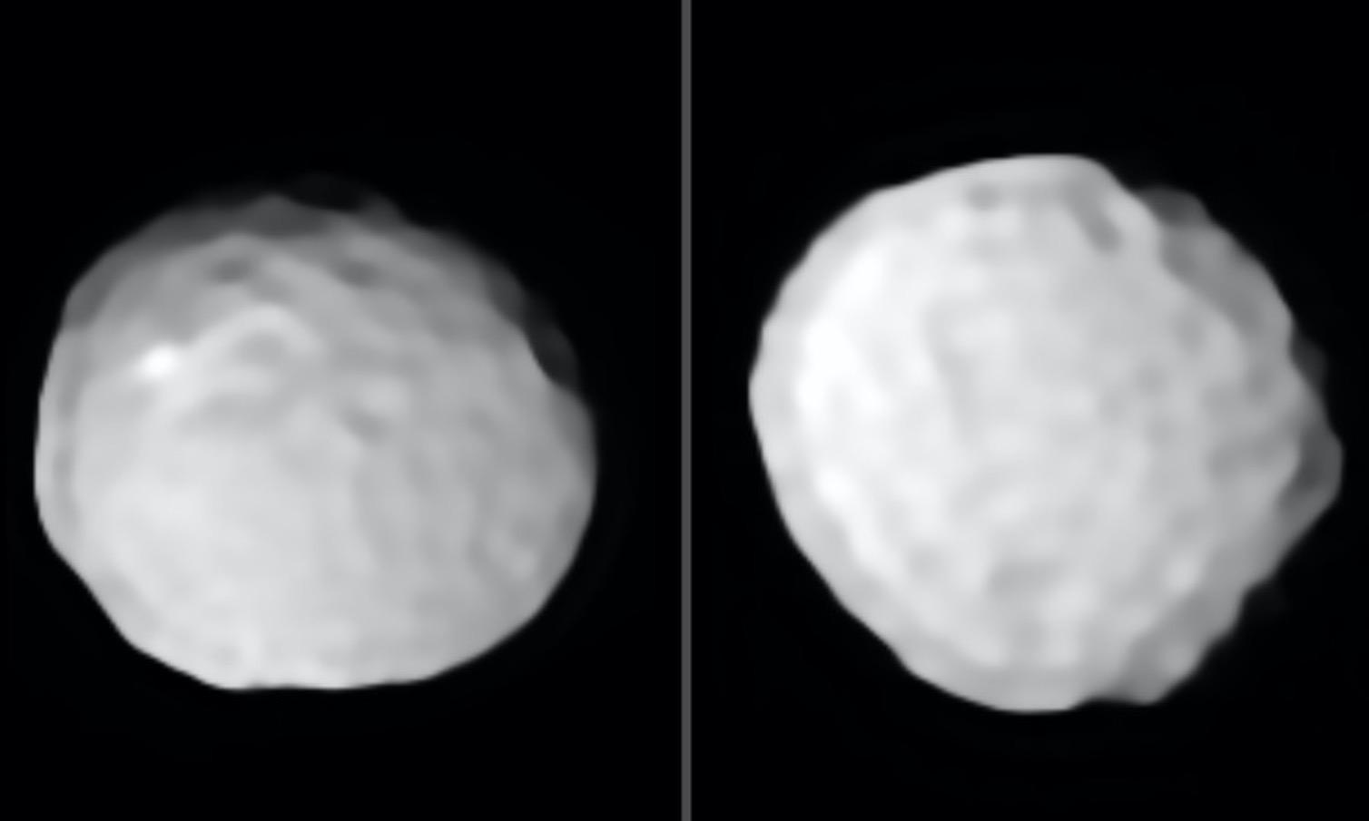 """Pallas : découvrez l'astéroïde """"balle de golf"""""""