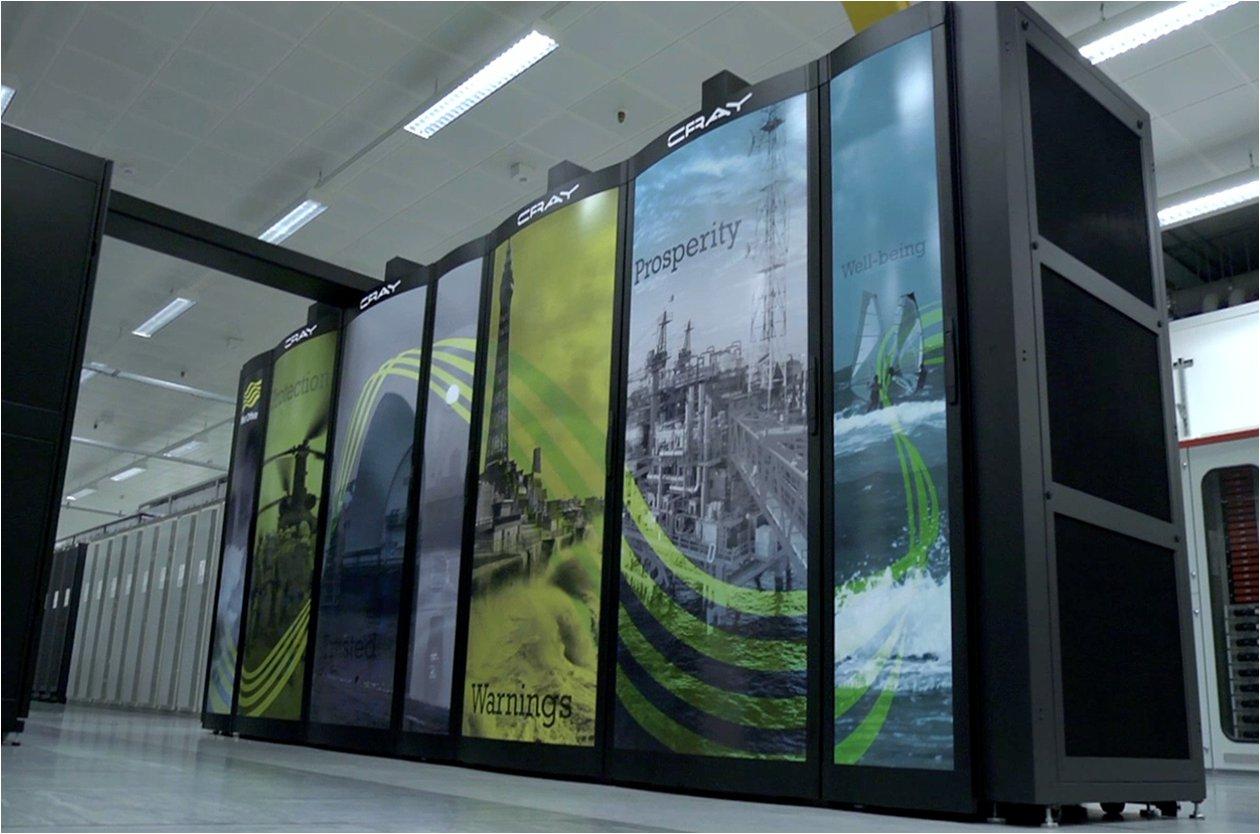 Le service météo britannique Met Office va disposer d'un incroyable supercalculateur !
