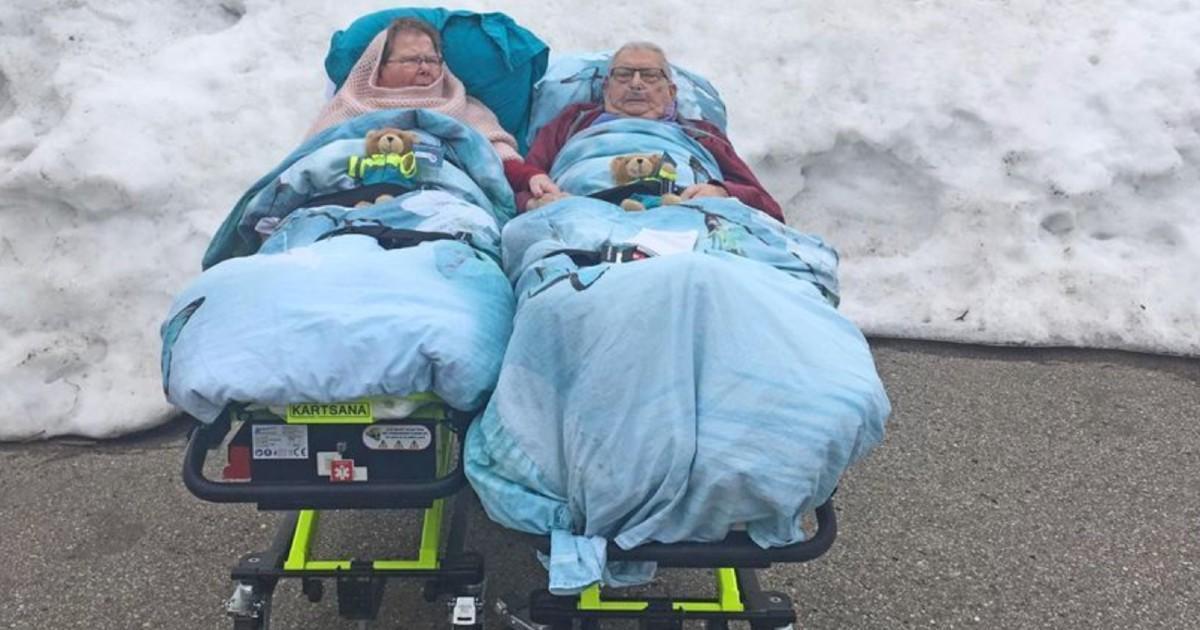 Un couple en fin de vie réalise son voeu de voir la neige une dernière fois avant de nous quitter