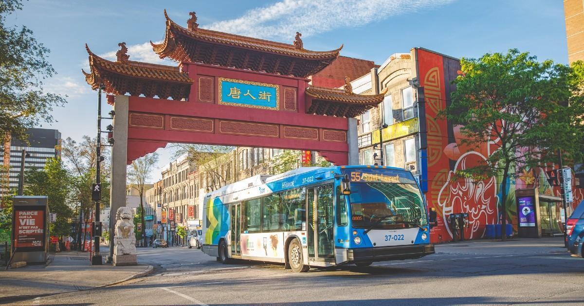Le quartier chinois de Montréal moins fréquenté en raison du coronavirus