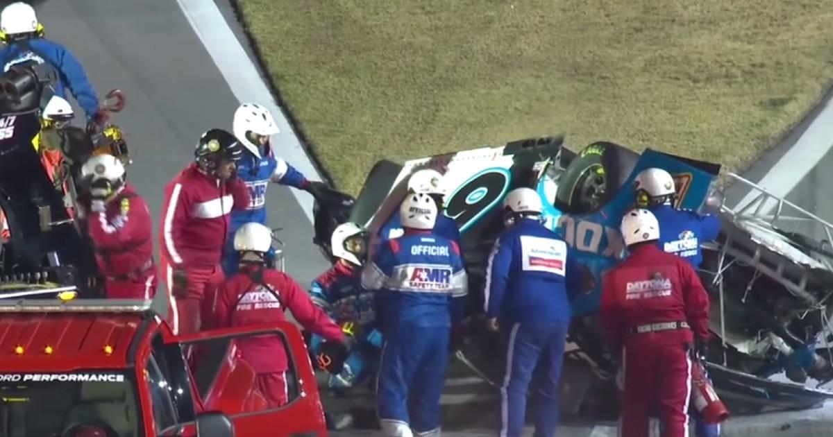 Le pilote de NASCAR Ryan Newman gravement blessé lors de mythique course Daytona 500