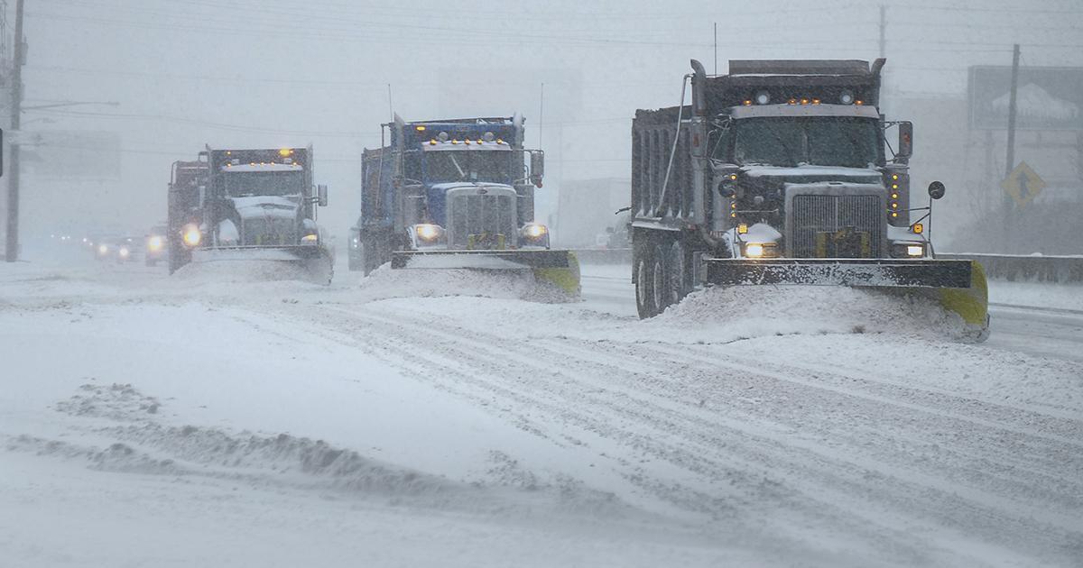 ALERTE MÉTÉO: Les quantités de neige revues à la hausse