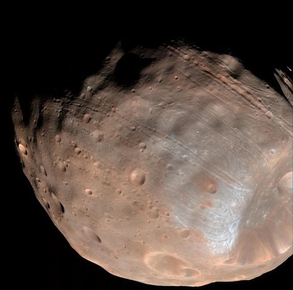 Le Japon veut ramener des échantillons de Phobos, la lune de Mars