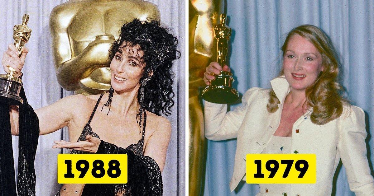 26 Photos de célébrités lorsqu'elles ont remporté un Oscar pour la première fois