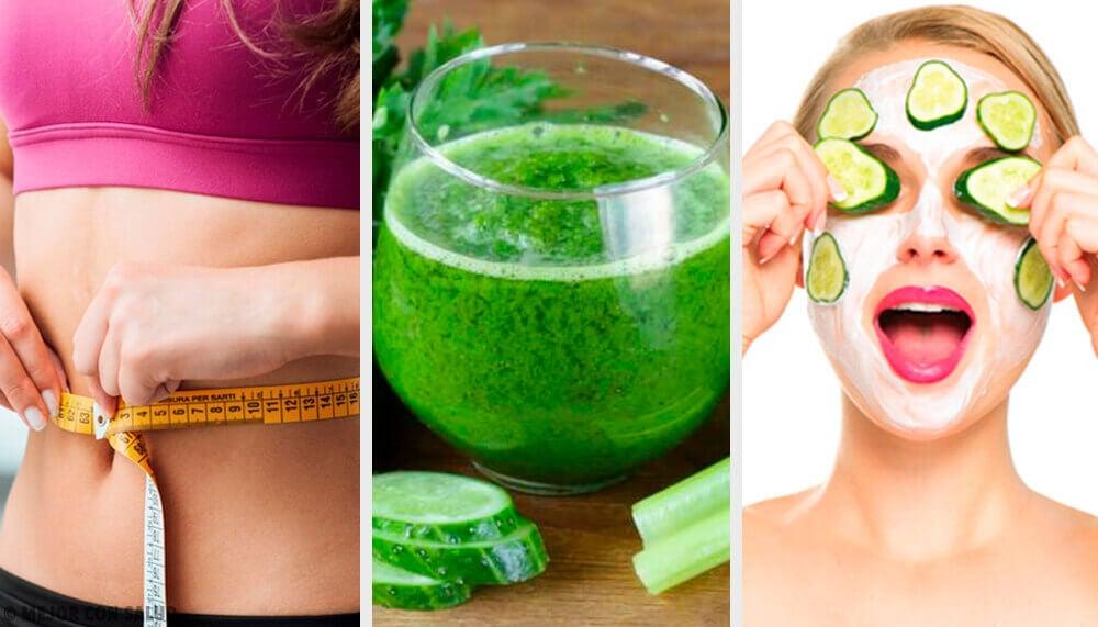 16 raisons de boire du jus de concombre — Améliore ta Santé