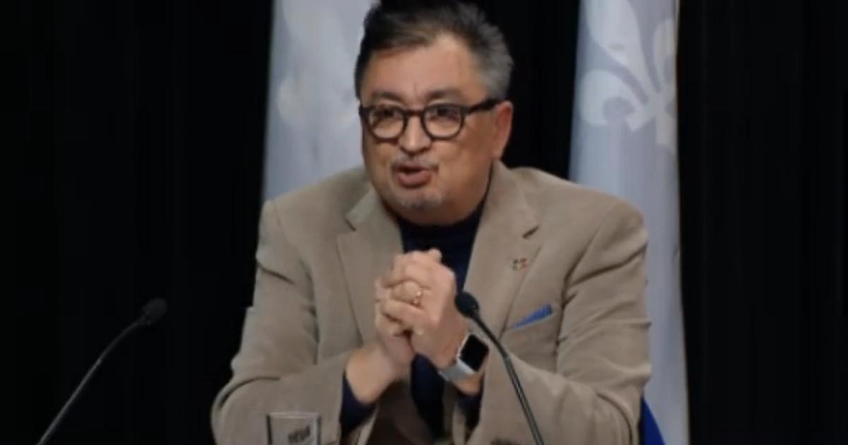 COVID-19: «Notre accélération est en deçà de ce qu'on a projeté», s'enthousiasme Horacio Arruda
