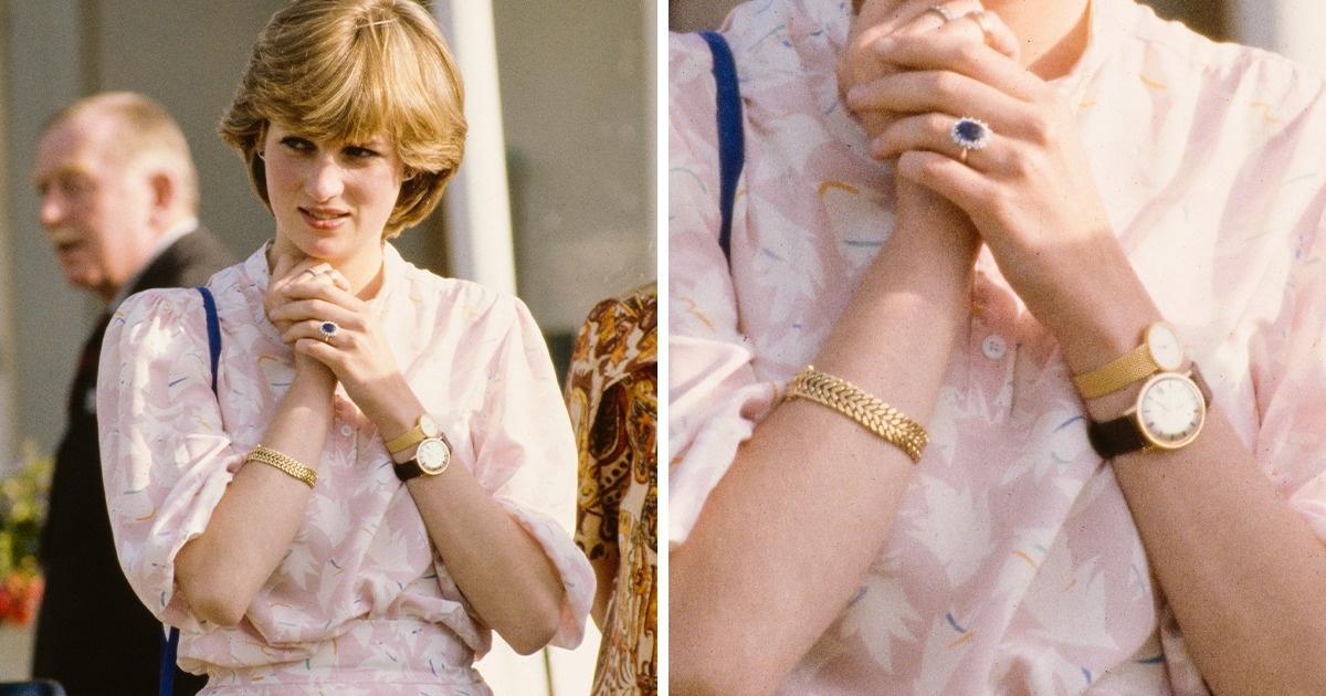 Voici pourquoi la princesse Diana a porté deux montres au poignet