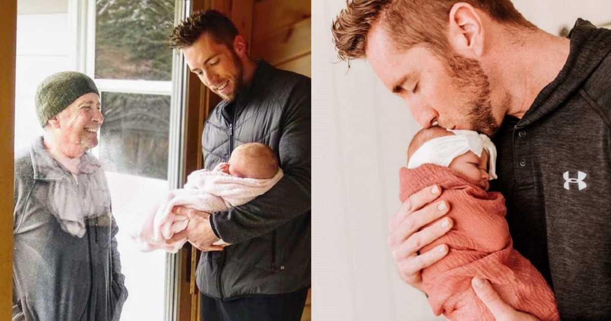 """""""Aujourd'hui, mon père a marché plus de 6 km pour voir notre nouveau bébé par la fenêtre."""""""