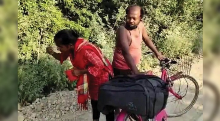 Une fille de 15 ans fait 1 000 km pour aller chercher son père malade, resté sans travail à cause du confinement