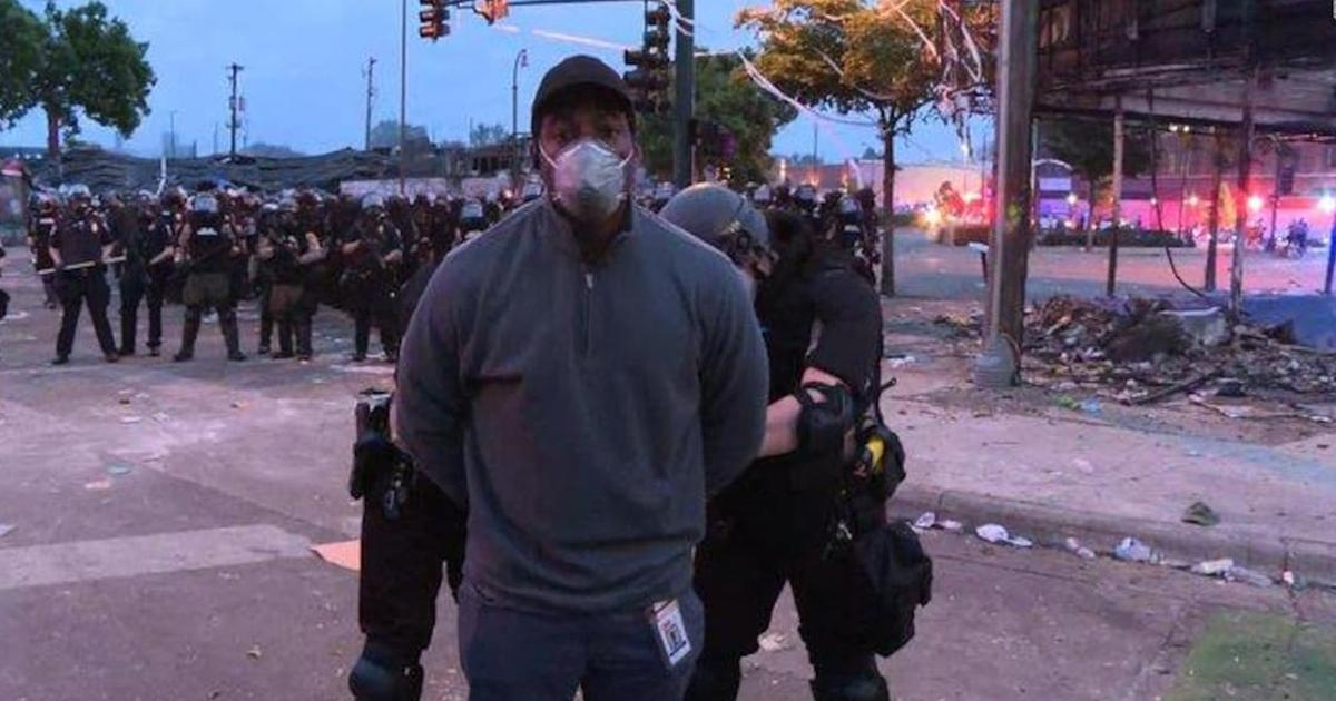 Un journaliste noir de CNN arrêté en direct à Minneapolis