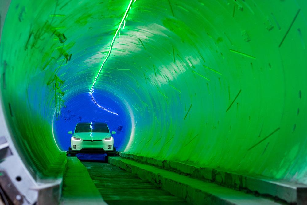 The Boring Company a terminé le deuxième tunnel sous Las Vegas !
