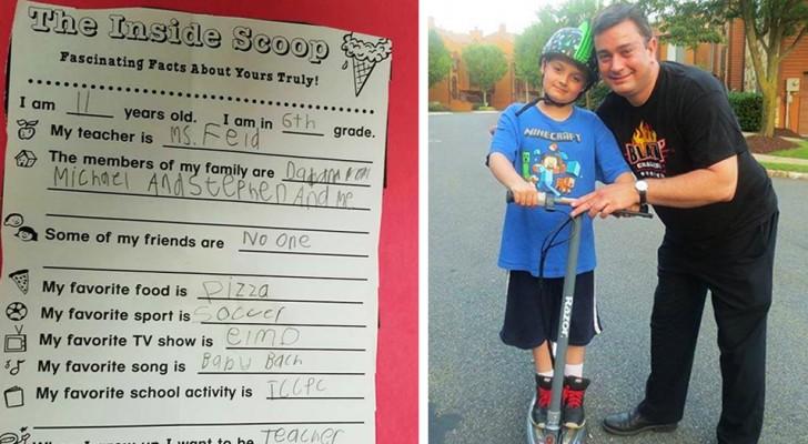 Son fils porteur d'autisme n'a pas d'amis : le père désolé raconte le point de vue de son enfant