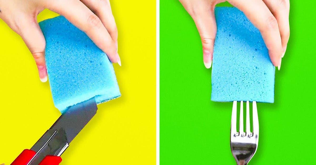 Ne jetez plus vos vieilles éponges : 10 nouvelles manières ingénieuses de les réutiliser