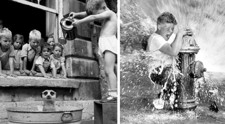 15 photos qui nous rappellent comment nos grands-parents ont grandi sains et saufs sans internet et sans jouets à la mode