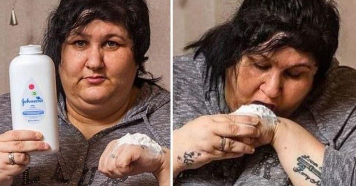 Accro au talc, elle en mange 200 grammes par jour pendant 15 ans