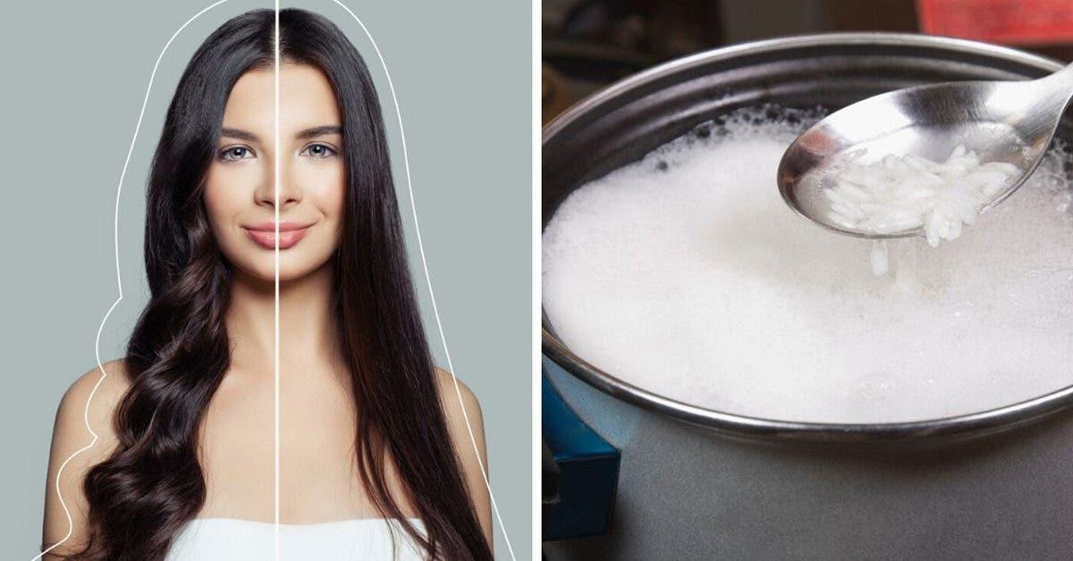 Nourrissez et lissez vos cheveux avec du riz et du lait de coco pour réparer les dommages
