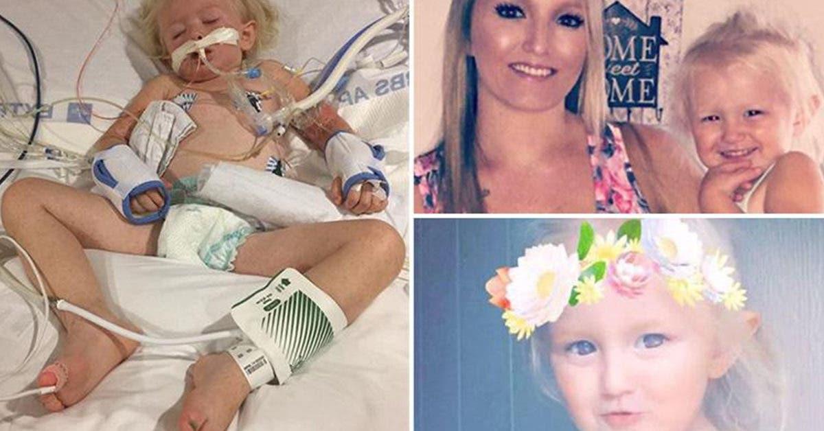 « Adieu petit ange » Une fillette de deux ans meurt d'une maladie rare après avoir été piquée par un insecte pendant qu'elle jouait dehors