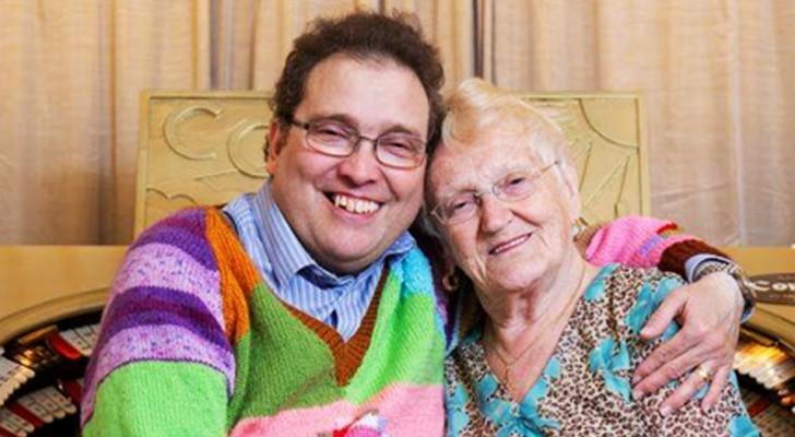 Il a 45 ans et elle 85 : malgré la différence d'âge, ils vivent l'histoire d'amour de leurs rêves
