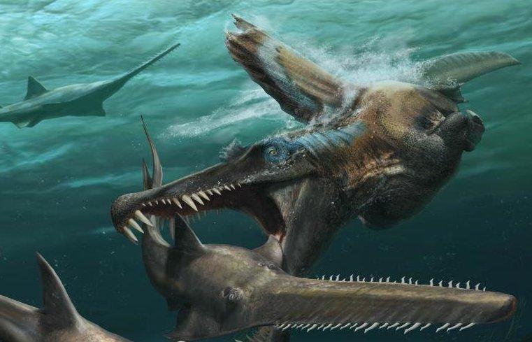 Une étude confirme que le spinosaure vivait essentiellement dans l'eau