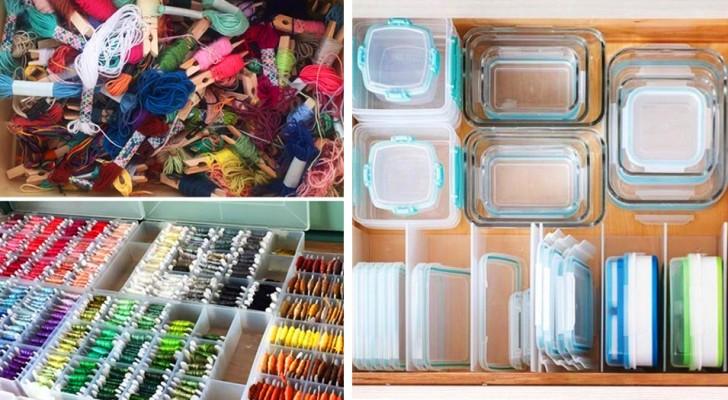 Comment disposer les objets de la maison de manière satisfaisante : 20 photos pour mettre de l'ordre dans votre vie