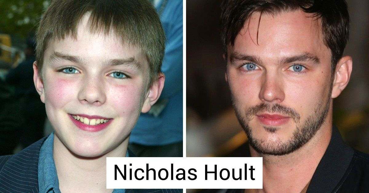 18 Hommes célèbres qui sont passés de petits garçons à canons de beauté
