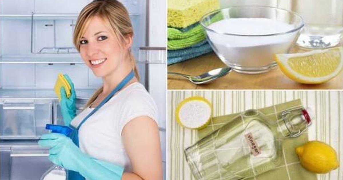 Apprenez à nettoyer et désinfecter votre réfrigérateur avec ces astuces pour le rendre comme neuf