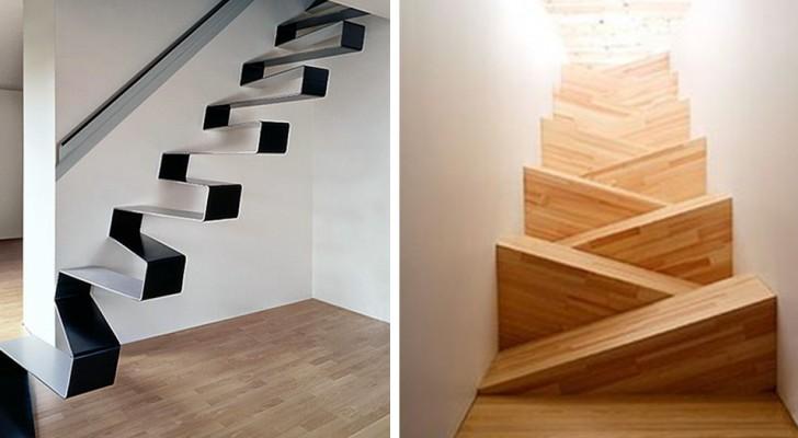 15 escaliers tellement traitres qu'ils ont mis en panique les personnes qui ont dû les emprunter