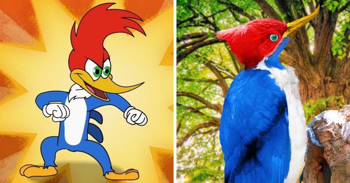 Imaginons à quoi ressembleraient certains personnages de dessins animés dans la vraie vie