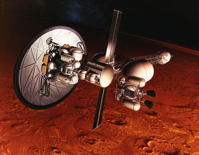 Pour envoyer des humains sur Mars, la NASA va devoir passer au nucléaire