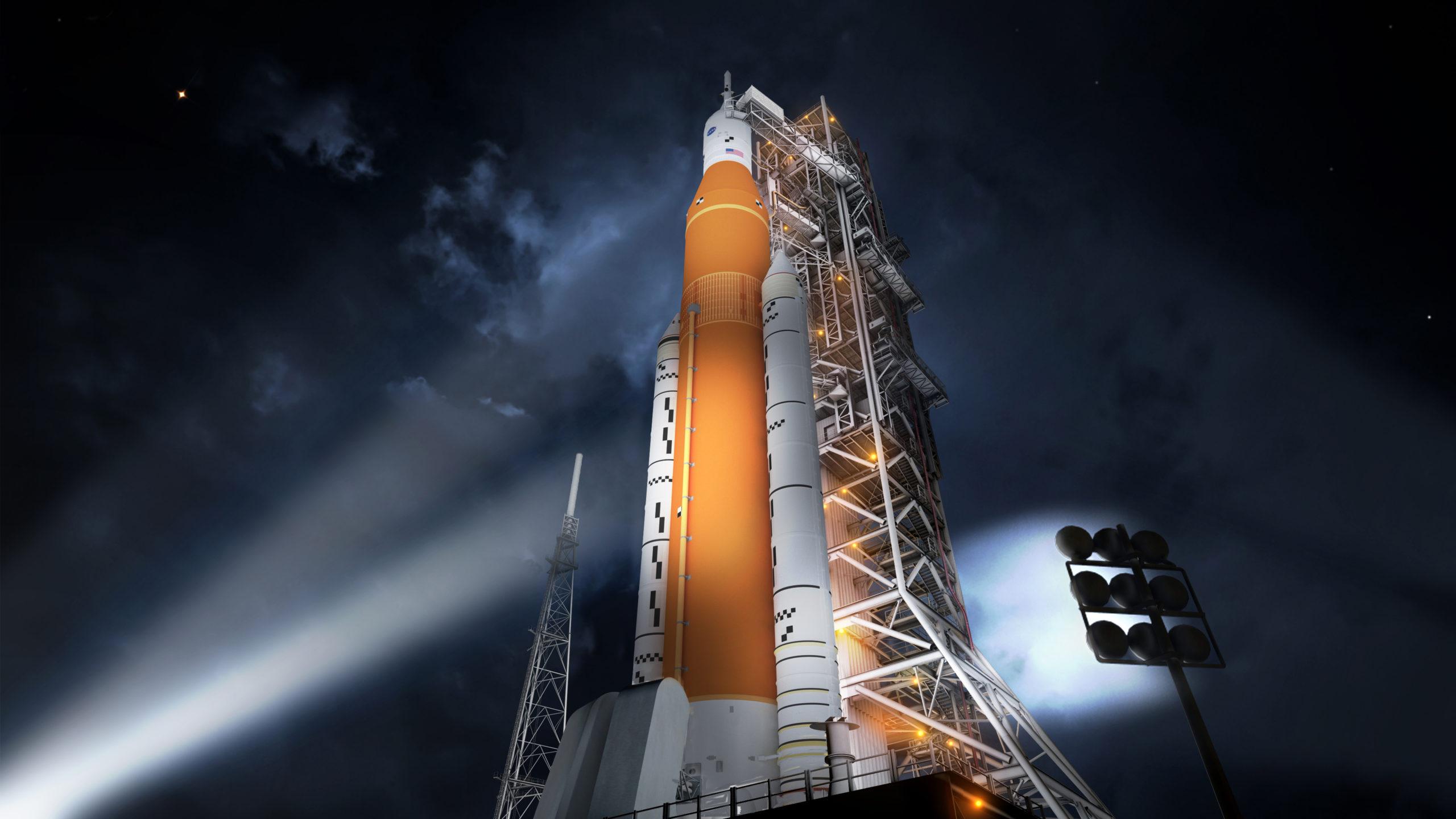 SLS : la NASA rallumera les moteurs de son énorme fusée vendredi
