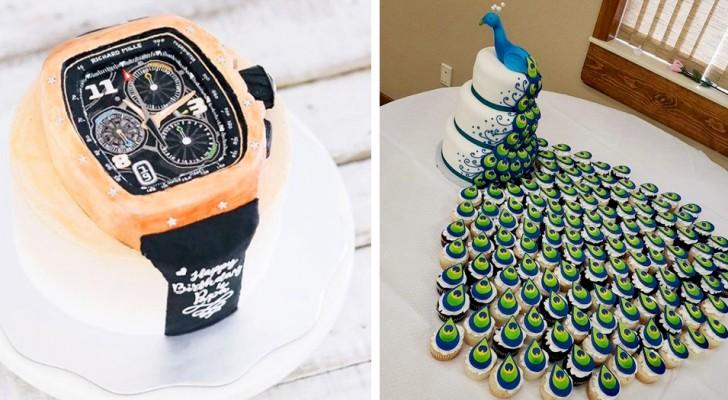 Si parfaits qu'ils semblent irréels : 17 gâteaux qui méritent un prix de créativité et d'originalité