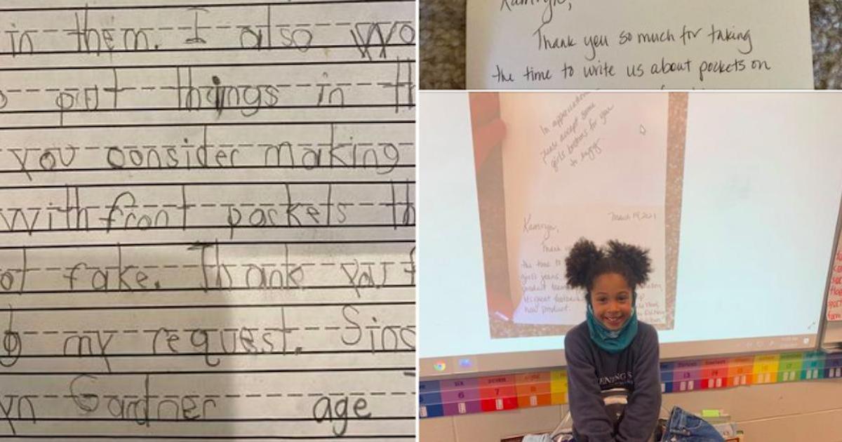 Old Navy a répondu à une fillette de 7 ans qui a posé la question que toutes les femmes se posent