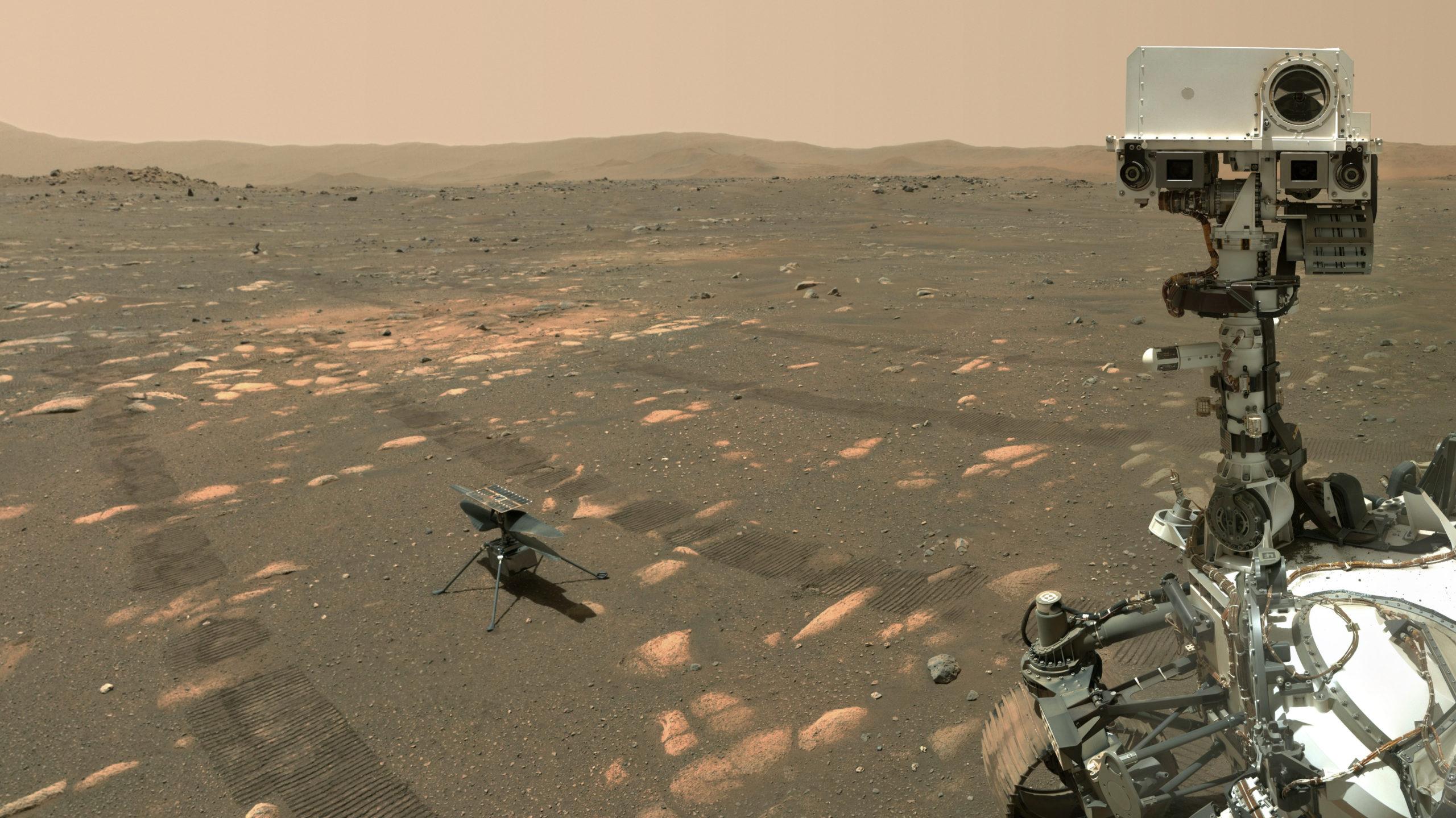 Quelles seront les prochaines missions d'Ingenuity sur Mars ?