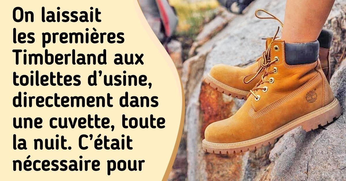 L'histoire des mythiques chaussures jaunes de bûcherons qui sont parvenues à conquérir le monde