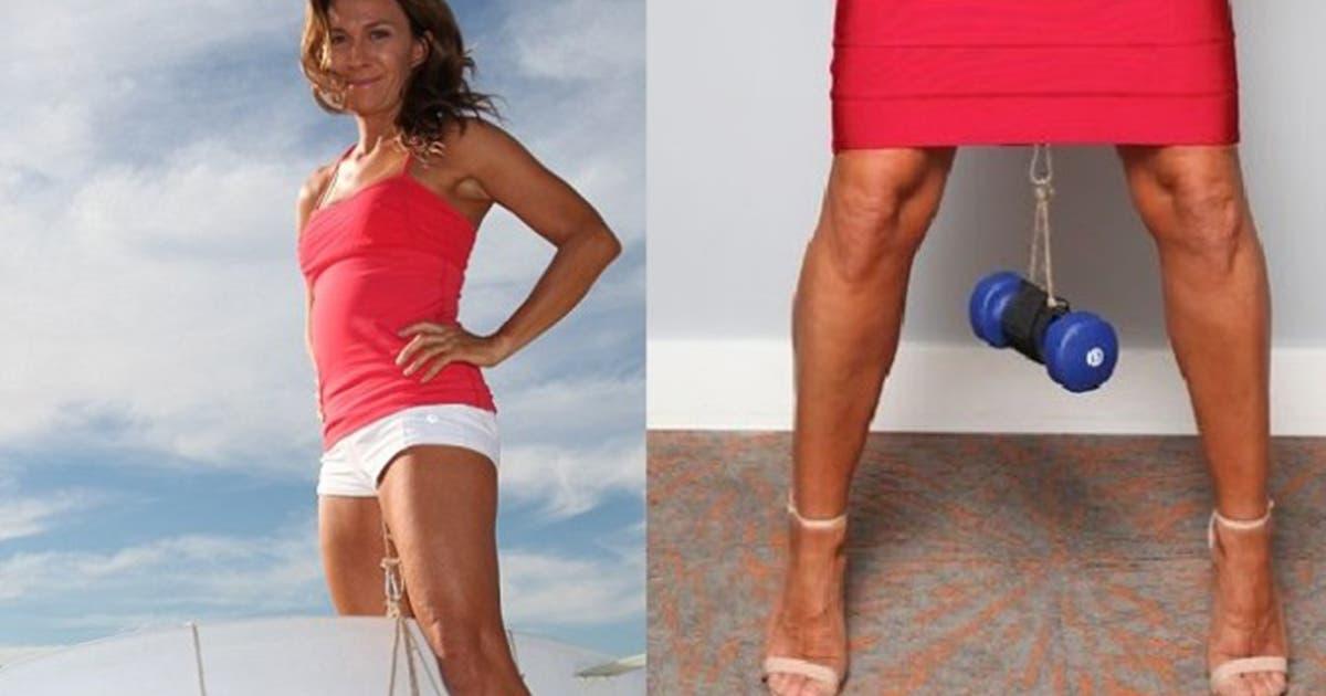À 44 ans, cette femme est une experte en haltérophilie vaginale (photos)
