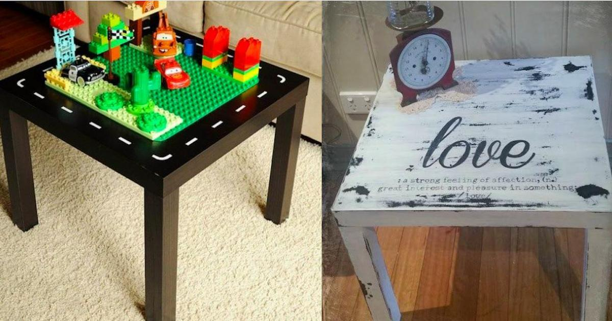 15 inspirations pour relooker une petite table style IKEA