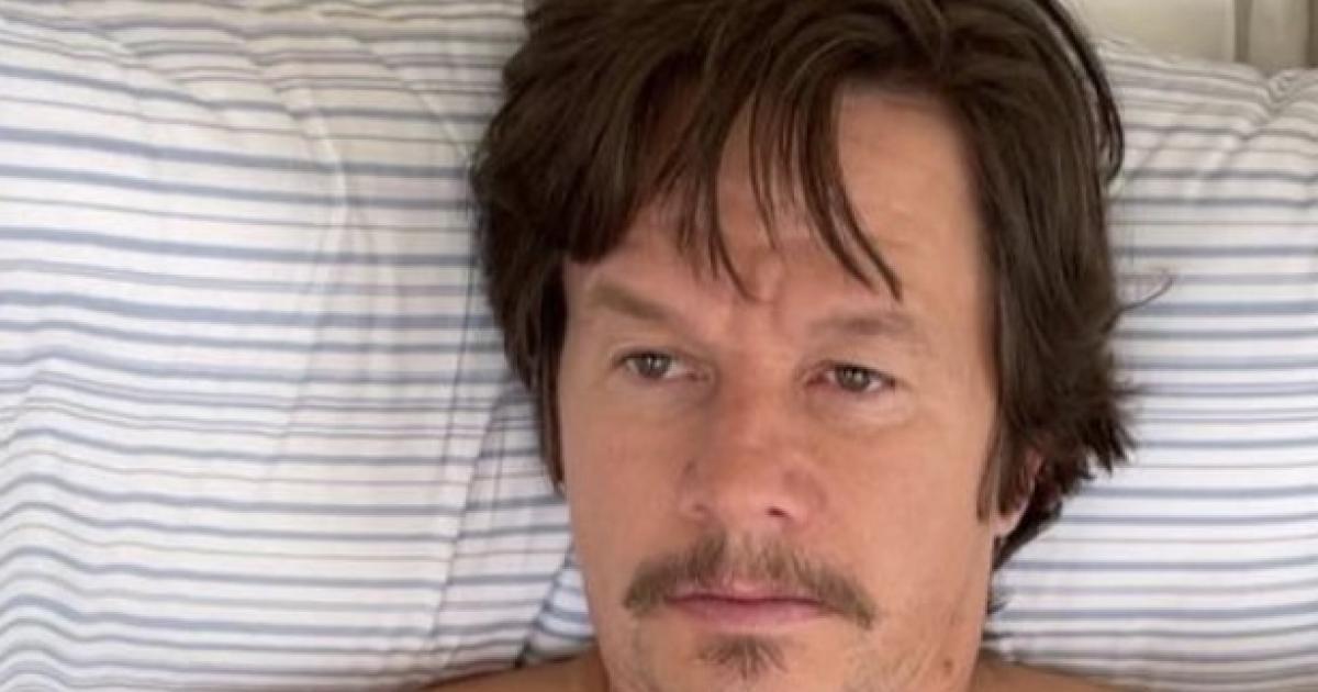 L'acteur Mark Wahlberg complètement transformé pour un nouveau film.