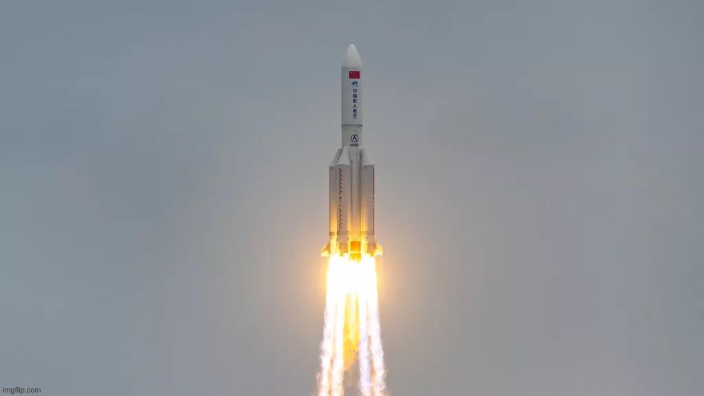 Le booster de la fusée chinoise retombe sur Terre de manière incontrôlée