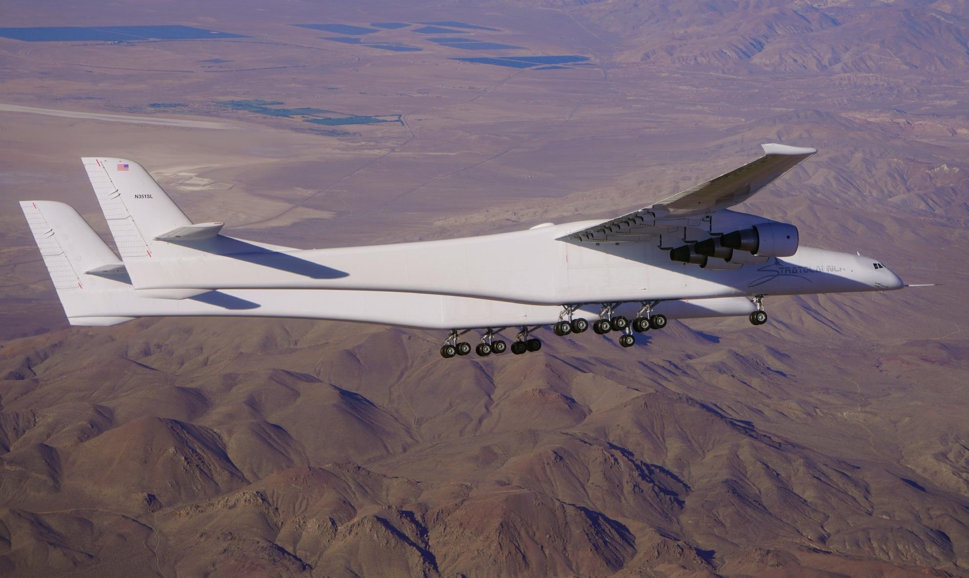 Vidéo : deuxième vol d'essai réussi pour le plus gros avion du monde