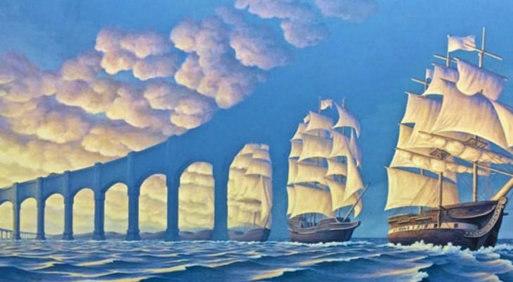Un tableau, deux scènes différentes : 15 illusions d'optique où réalité et imaginaire se rejoignent