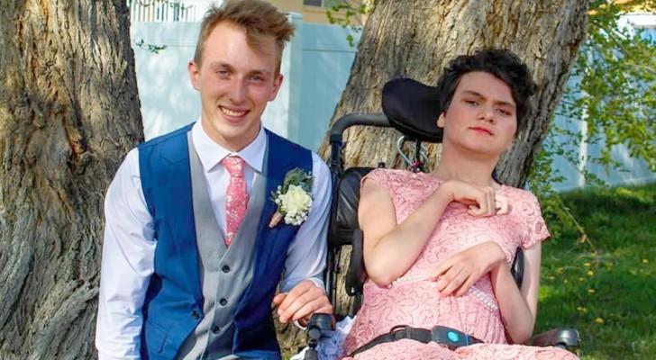 Un adolescent emmène une jeune fille porteuse d'handicap au bal de fin d'année : personne ne voulait l'emmener à la fête