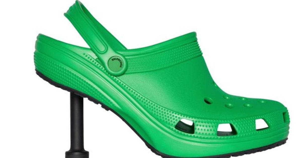 Les Crocs Stiletto existent.. et on se demande pourquoi!