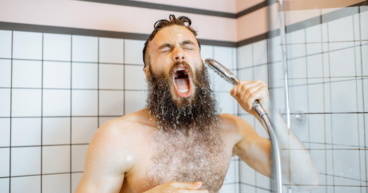 Par temps chaud, prendre une douche pas n'est pas une bonne idée