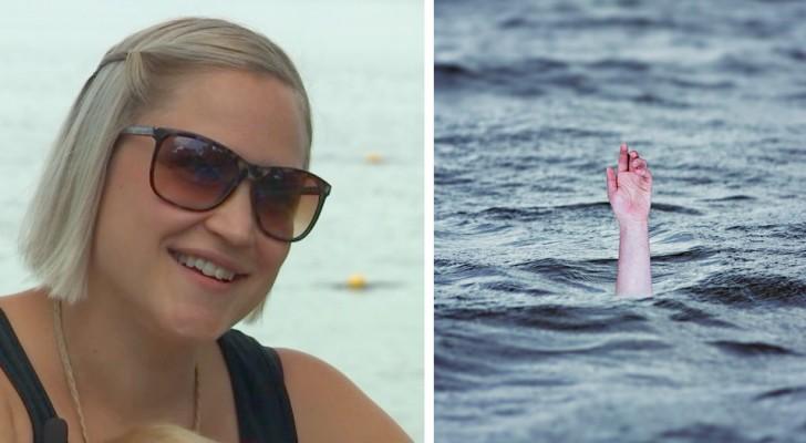 Une femme enceinte manque la messe pour emmener ses enfants nager et finit par sauver un enfant de la noyade