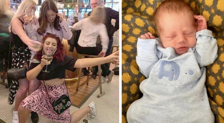 Elle donne naissance à un bébé sans se rendre compte qu'elle est enceinte depuis des mois : 'Je ne savais pas que j'étais enceinte !'