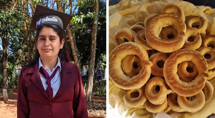 Une jeune mère célibataire vendait du pain pour payer ses études : aujourd'hui, elle a réalisé son rêve de devenir enseignante