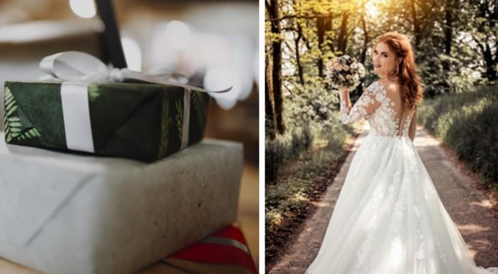 La mariée attend de ses invités qu'ils dépensent au moins 400 $ pour son cadeau de mariage