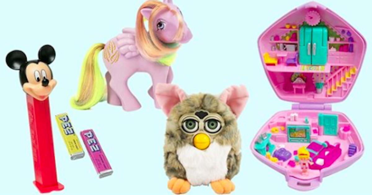 15 jouets de notre enfance qui valent maintenant beaucoup plus que jadis!