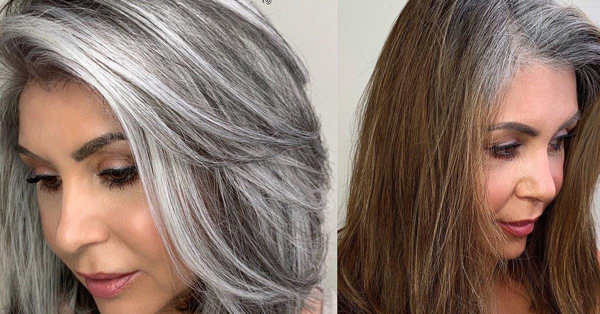 5 astuces de stylistes pour maintenir la belle couleur platine de vos cheveux grisonnants