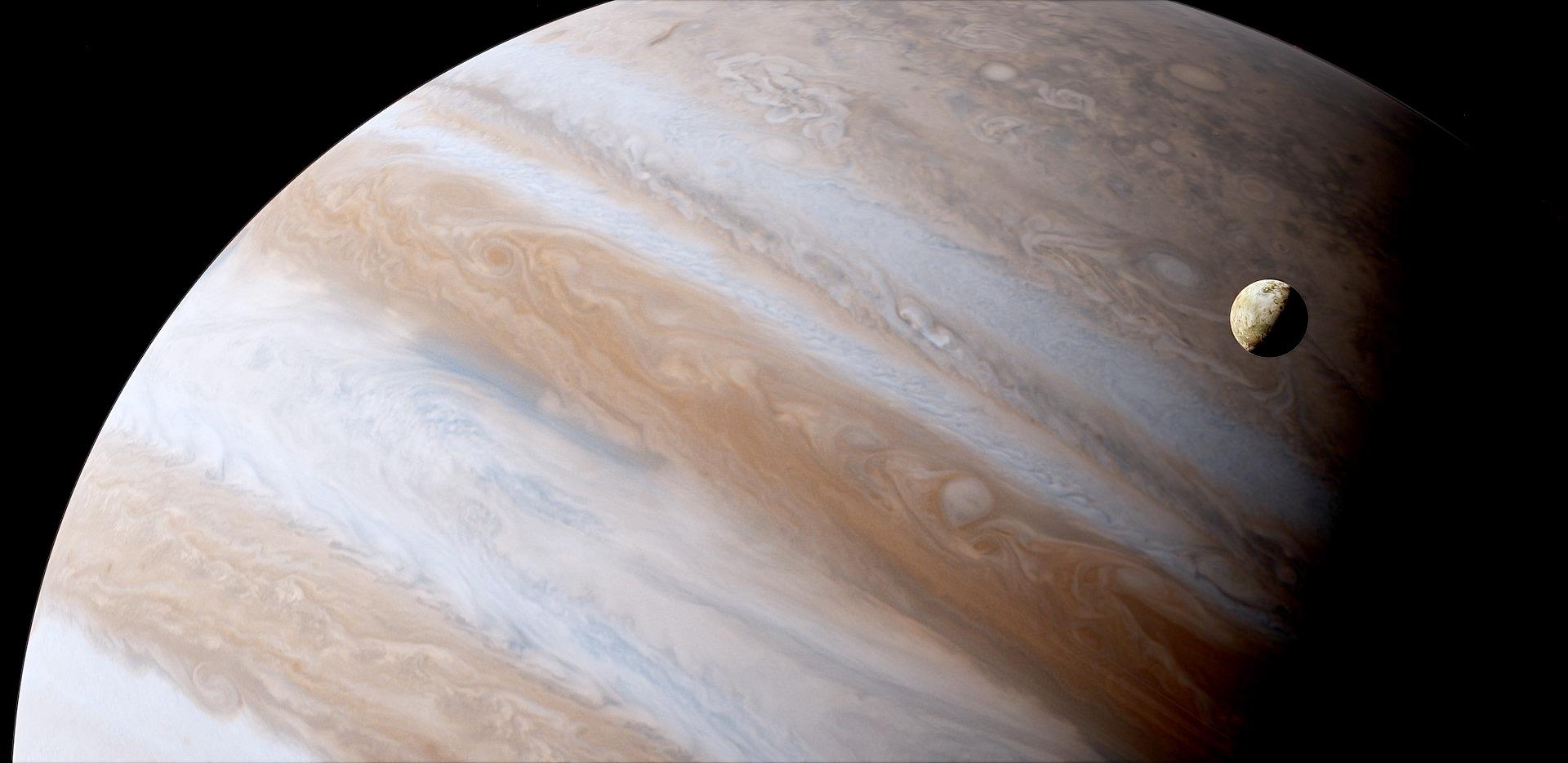 Vidéo : un énorme objet vient de frapper Jupiter